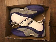 Reebok Answer 4 IV DMX shoes sz 9 Allen Iverson AI Purple White Kobe Lakers