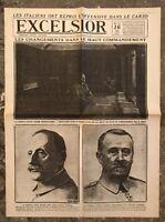 N162 La Une Du Journal Excelsior 16 Mai 1917