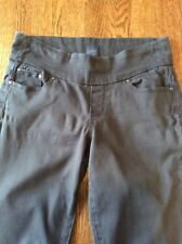 Jag Jeans Womens Pant Size 4 High Rise Straight Leg Pull On Brown
