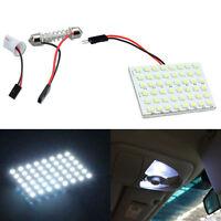 48 SMD 5050 LED T10 BA9S Dome Festoon Car New Interior Light Panel Lamp 12V