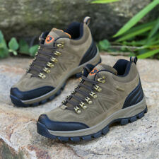 Mens waterproof comfortable lightweight outdoor walking hiking trail work shoes