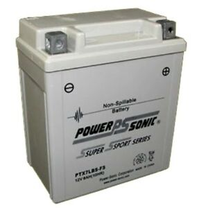 BATTERY GS GTX7L-BS 85CCA 12V 6AH  FACTORY SEALED REPLACEMENT