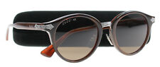 New Gucci Sunglasses Men GG 0066 Brown 001 GG0066/S 50mm
