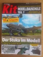 Zeitschrift ModellFan - Kit.  Modellbauschule Teil Nr. 7