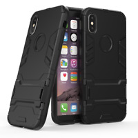 For Apple iPhone 7 8 Plus XS Max Slim Tough Armour Shock Proof Phone Case Cover