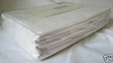 New White Classic Living Jacquard Queen Duvet Cover Set 370 Thread Count 100% Ct