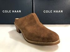Cole Haan Women's Andi Mule Loafer Brown Suede