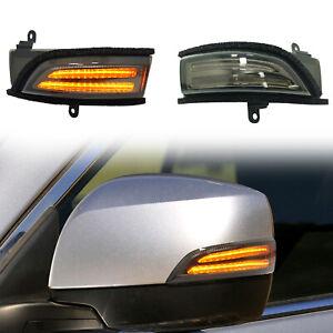 For Subaru WRX STI Outback Forester XV LED Side Mirror Dynamic Turn Signal Light