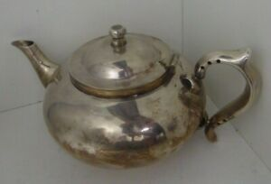 ROBUR PERFECT CHALLENGE SILVER PLATED TEAPOT