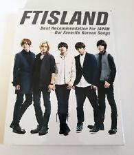 FTISLAND Best Recommendation for Japan Press CD - No Photocard FT ISLAND