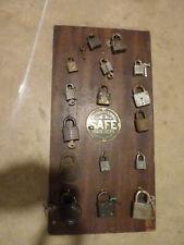 New ListingVintage Safe Padlock Store Display & Locks