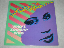 """ARETHA FRANKLIN Who's Zoomin' Who 1985 AUS P/S 7"""" 45 MINT"""