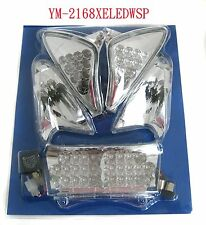 =4MotorcycleRacing=YAMAHA TMAX 01-07 LED TAIL,FRONT ,REAR WINKER LAMP 6 PC SET