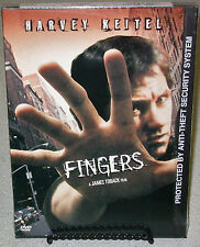 FINGERS Harvey Keitel SNAPCASE Tanya Roberts RARE James Toback Commentary SEALED