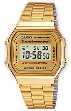 Casio A-168WG-9E Orologio, Batt.7anni Illuminator Crono, Vintage