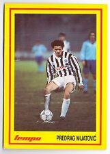 TRADING CARD -  PREDRAG MIJATOVIC FK PARTIZAN - FC REAL MADRID FROM 1992