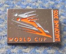 FIS WORLD CUP SKI FLYING JUMPING POLAND ZAKOPANE 2005 PIN BADGE