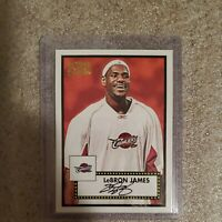 Lebron James 1952 Style Topps Basketball Card Clevelan Cavaliers 2006 king