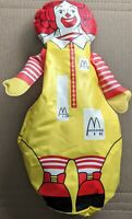 "Vintage Ronald McDonald Inflatable Bop Bag Figure Toy 13"" weighted bottom"