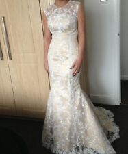 Lace Prom Dress Size 8 Stunning Was £1200 New