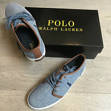 BNIB Ralph Lauren canvas trainers sneakers US 5 UK 4.5 Eu 37 RRP £65 100%Genuine