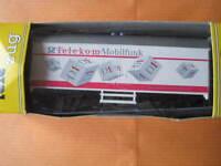 "Marklin H0 4415 basis type ""Telekom Mobilfunk"" Box Car - Limited Edition in 1992"