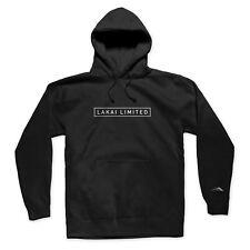 Lakai Clothing Text Box Men's Black Pullover Hoody Jumper