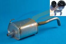 FIAT PANDA mk2 1.1 1.2 Hatchback 03-12 Exhaust Rear Silencer with mounting kit