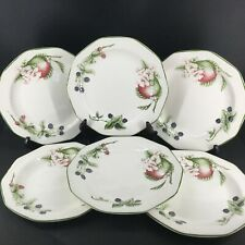 6 assiettes plates Churchill, Made in England - The Chartwell Collection