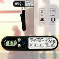50kg/100g Portable LCD Digital Hanging Luggage Scale Travel Electronic Weight