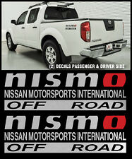 Nismo off road decal sticker for Nissan Frontier Xterra 4x4 sport bed S/R
