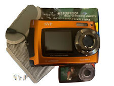 SVP AQUA 5800-A 18MP DUAL SCREEN WATERPROOF DIGITAL CAMERA ! 5800A  T254