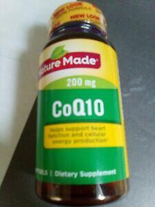 Nature Made CoQ10 200 mg. - 40 Softgels Exp: 06/2022+