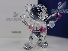 SWAROVSKI KRIS BEAR, FLOWERS FOR YOU RETIRED 2012 MIB #1016620