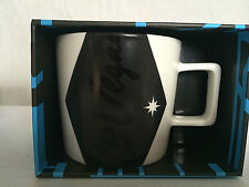 New Starbucks Las Vegas 2014 Coffee Mug Cup 14 oz Black White Ceramic