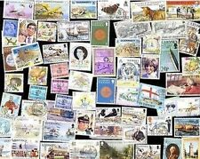 100 All Different GUERNSEY Stamps *