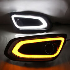 For Ford Escord 15 Daylight Daytime Running Lights Lamps DRL With Turn Signal x