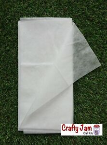 Water Soluble Fabric Stabiliser 1 m x 50 cm Needle Felting, Embroidery