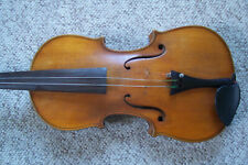 Antique 4/4 High Grained Unmarked Violin Beauty With Case