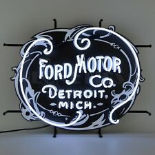 Ford Motor Company Neon Sign New Ford Neonetics