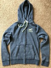 New Hollister by Abercrombie Fitch Mens Hoodie Jacket Blue L