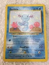 Carte pokémon Axoloto commune 71/75 neo discovery 1995
