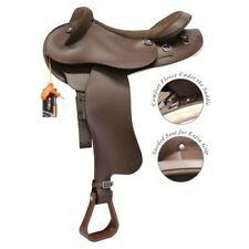 """Swinging Fender Saddle with Adjustable Gullet Synthetic Halfbreed - 15"""""""
