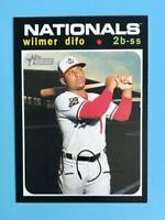 2020 Topps Heritage High Number Wilmer Difo SP #720 Washington Nationals