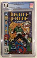 Justice League America #63 CGC 9.8 - of 1992 - Dan Jurgens