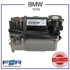 BMW X5 E53 COMPRESSORE ARIA SOSPENSIONE PNEUMATICA AMMORTIZZATORE 37226787617