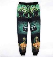 New men's casual 3d Tupac 2Pac printed pants sweatpants hip hop sports joggers