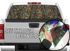 P334 CAMO CAMOUFLAGE Tree Real Rear Window Tint Graphic Decal F150 Ram 1500