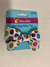 Cottondale Easter Pet Collar Egg Bow Tie
