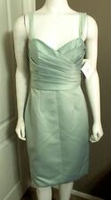 WTOO BY WATTERS & WATTERS WOMEN'S RUCHED SPAGETTI STRAP DRESS SIZE 10 NWT